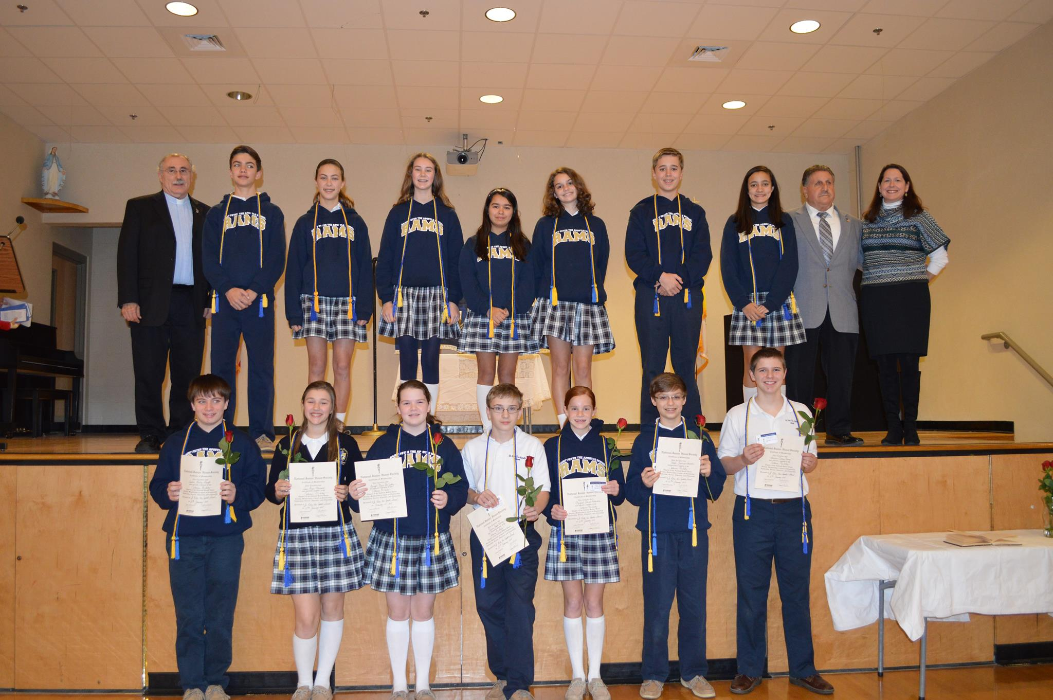 National Junior Honor Society Inductions at SPA - St Peter ...